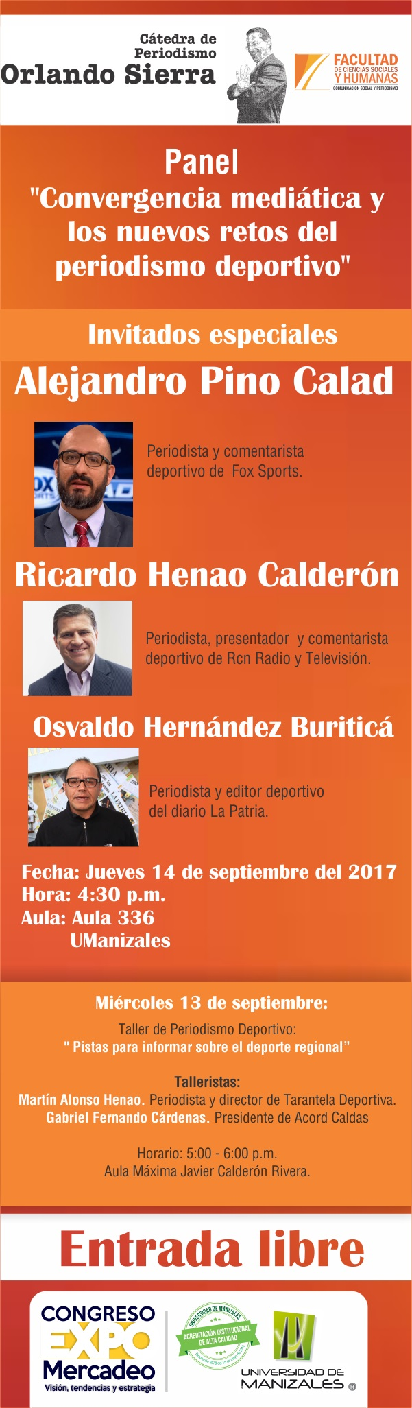 Cátedra Orlando Sierra