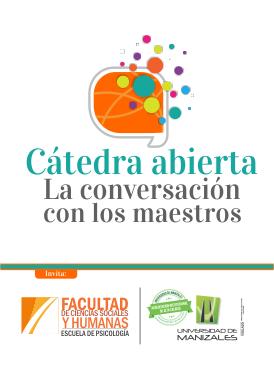 Cátedra abierta La conversación con los maestros