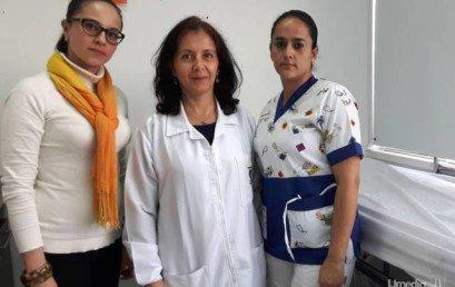 Servicio Médico unido a la lucha contra el cáncer de cérvix