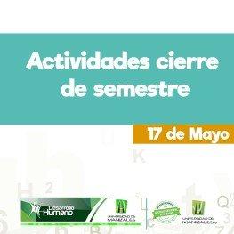 ACTIVIDADES CIERRE DE SEMESTRE WEB