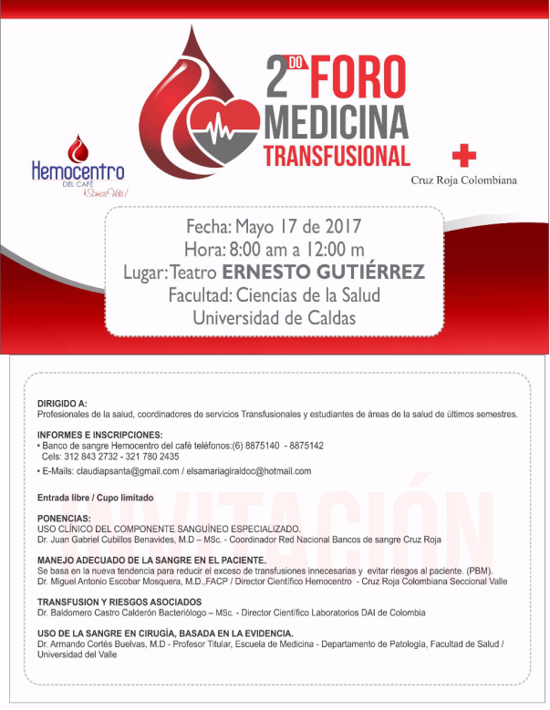 Foro medicina transfusional