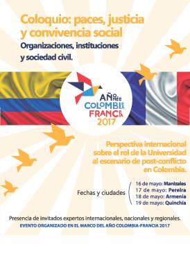 Coloquio: paces, justicia y convivencia social