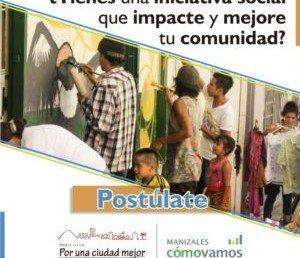 Postúlese aquí: nueva convocatoria para promover la innovación social en Manizales