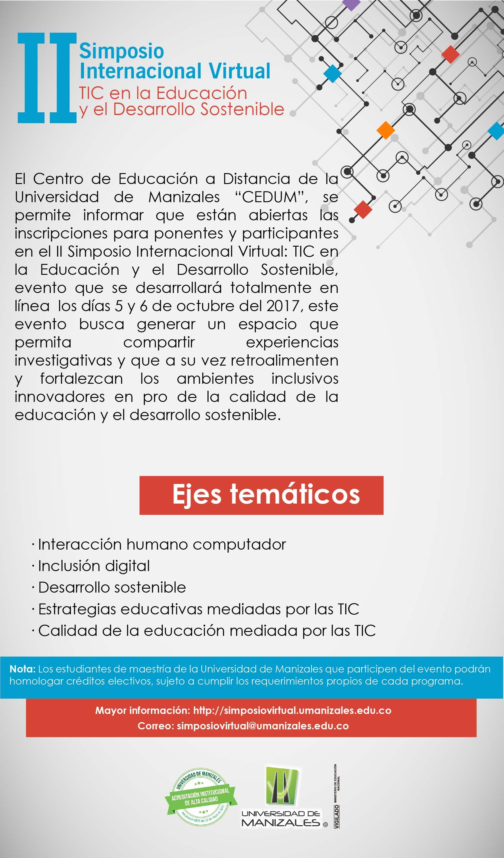 II Simposio Internacional TIC en la Educación