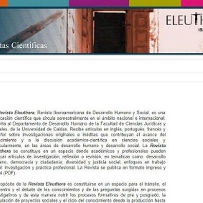 Participe en convocatoria permanente de Revista Eleuthera