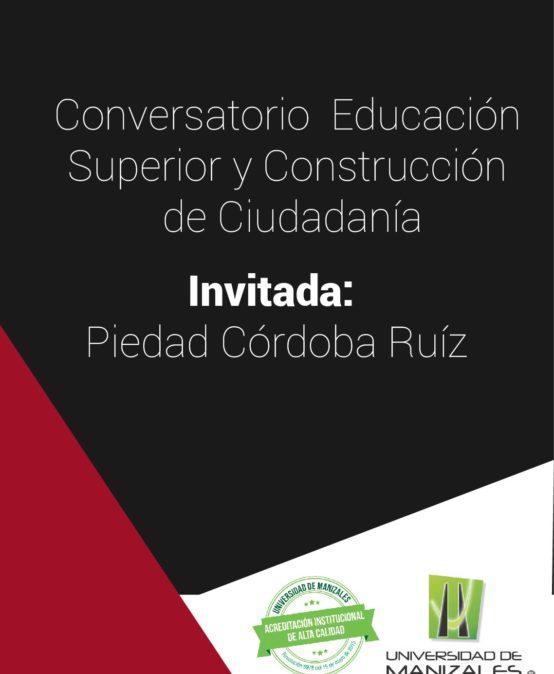 Conversatorio: Educación Superior y Construcción de Ciudadanía