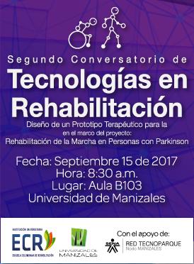 Segundo conversatorio de tecnologías en rehabilitación