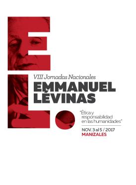 VIII Jornadas Nacionales Emmanuel Lévinas