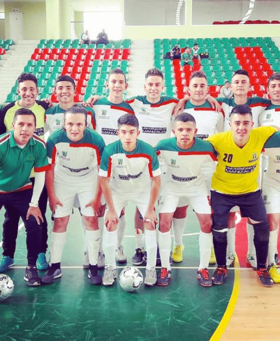 UManizales proyecta triunfos en el fútbol sala