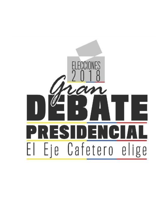 Debate presidencial 2018 – Eje cafetero