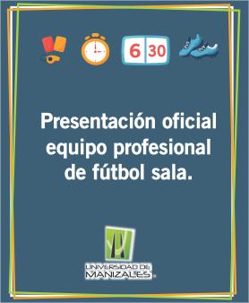 Presentación oficial equipo profesional de fútbol sala