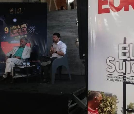 Eureka fue presentada en la IX Feria del Libro de Manizales