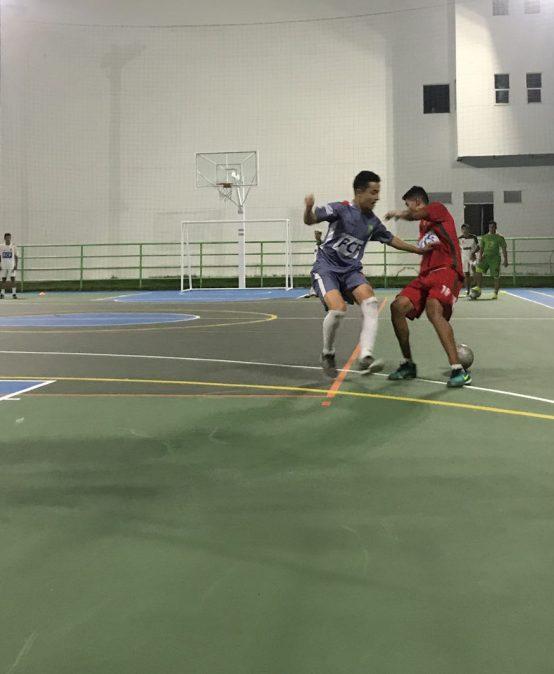 Amistoso de futsal entre la Universidad de Manizales y la Selección Caldas Sub-20