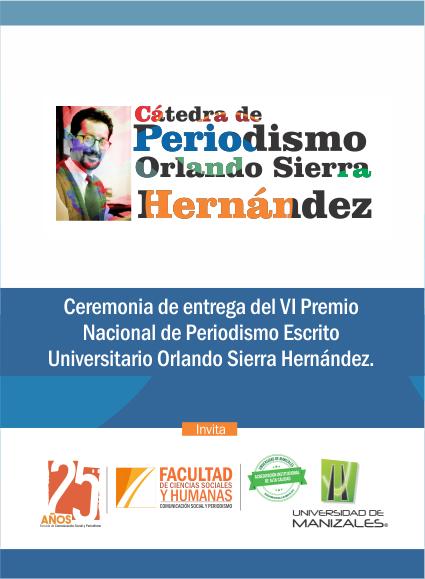 Cátedra de periodismo Orlando Sierra Hernández