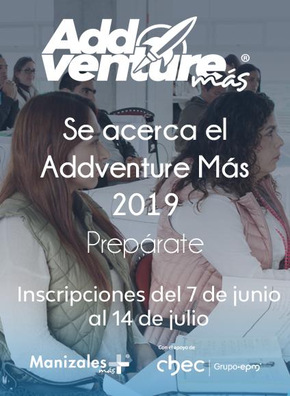 Addventure más 2019