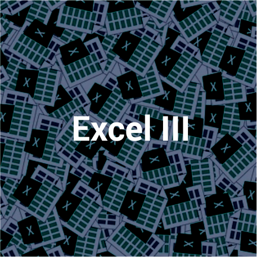 Excel III