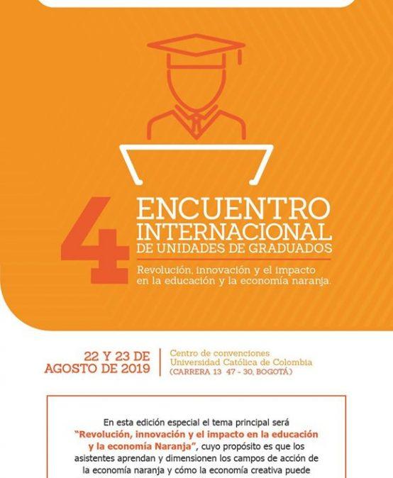 4° encuentro internacional de unidades de graduados
