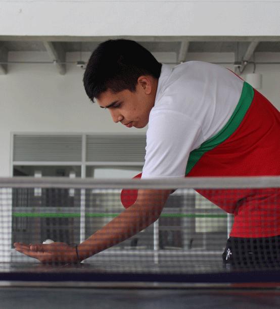 Entre el tenis de mesa y los sueños empresariales