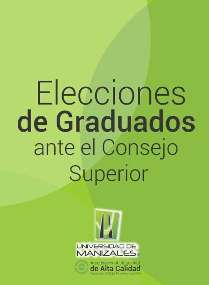 Elecciones de Graduados ante el Consejo Superior
