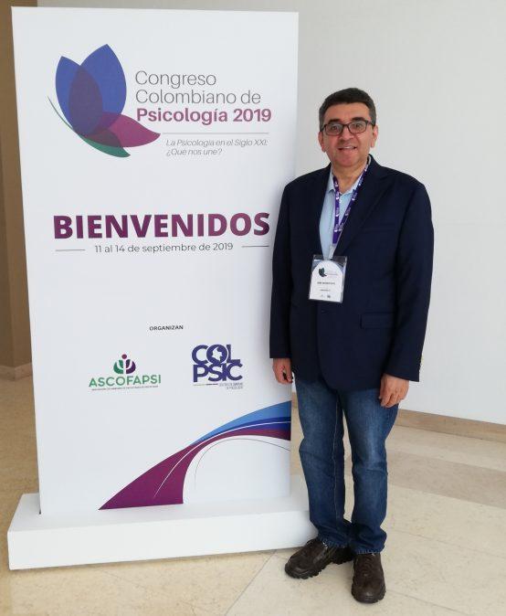 Psicólogo UManizales presentó ponencia internacional