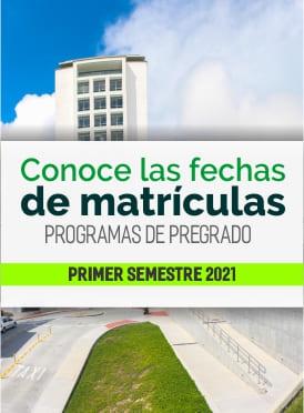Conoce las fechas de matrículas pregados primer semestre