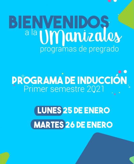 Programa de inducción primer semestre 2020 – 1