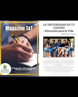 Programas técnicos y tecnológicos de la Facultad de Ciencias Contables, Económicas y Administrativas de la UManizales ahora tienen un magazine