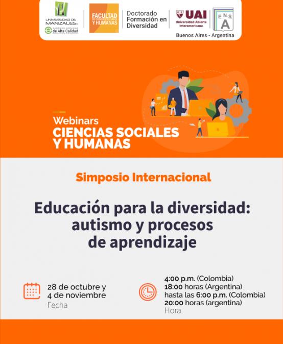 Simposio Internacional – Educación para la diversidad: autismo, y procesos de aprendizaje