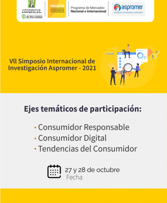"Vll Simposio Internacional de Investigación Aspromer-2021 ""Tendencias del consumidor"""